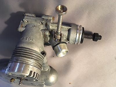 K&b 40 Bb C/l Engine Complete With Muffler