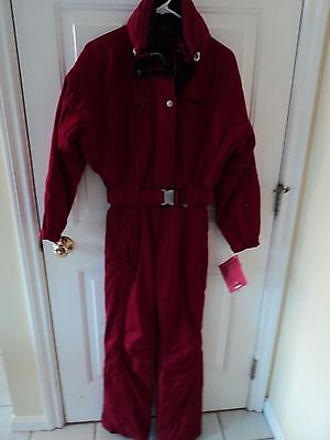 $460 Women's SCHOFFEL ski suit snow jacket, one piece, 2 in 1 zip out, S, 4, NWT