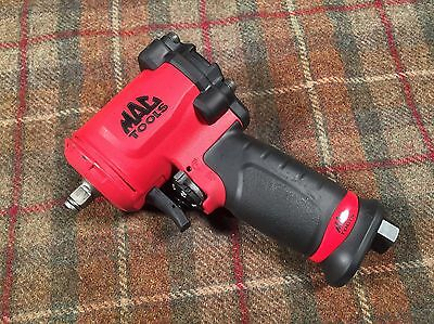 MAC Tools AWP038M 3/8 Air Impact Wrench Tool Short Stubby Hardly Used