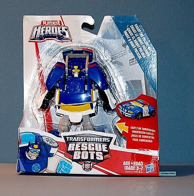 Playskool Heroes Transformers Rescue Bots Rescan Chase The Police Bot