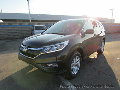 2016 Honda CR-V AWD 5dr EX AWD 5dr EX New 4 dr SUV CVT Gasoline 2.4L 4 Cyl Kona Coffee Metallic