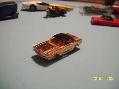 Aurora Cigar Box Plated Mustang Ht /with No !! Stripe