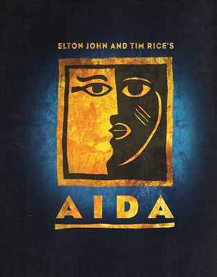 """Aida""  Broadway Souvenir Program 2000  OBC  Adam Pascal, Heather Headley"