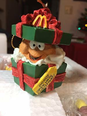 McDonalds McMemories MERRY McNUGGET CHRISTMAS 4 Ornaments LIMITED 1996