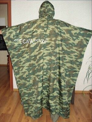 Russian Elite SNIPER SPN СПН SPECNAZ Issue Special Flora Camouflage Poncho Tent
