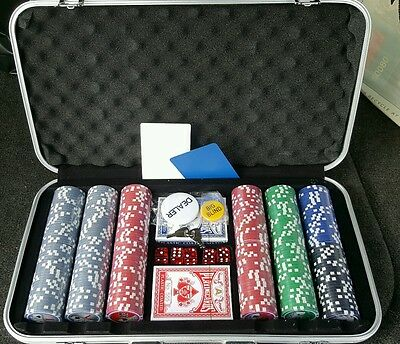 WE Games 300 Chip Travel Poker Set! Brand new! Awesome set!