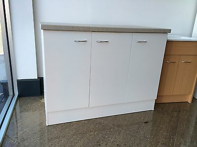 NEW Australian Made Kitchen Cabinet, 40mm Laminated Top 1200w,Laundry,Cupboard,