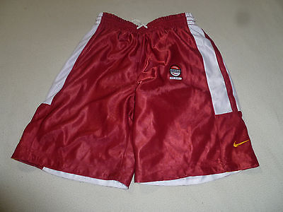 New W Tags Usc Nike Trojans Reversible Shorts Size S 8-10 Y Cal Nk Rev Nwts