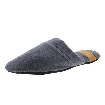 Zara 3367 Mens Gray Wool Comfort Casual Slide Slippers Shoes 9 BHFO