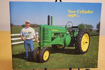John Deere 1952 Model A Tractor Green Magazine Two Cylinder