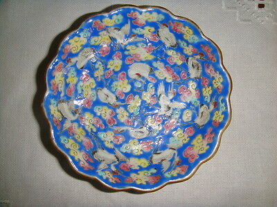 Rare Genuine Qing Dynasty Period  Familly Rose Porcelain Plate 19TH C