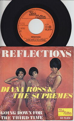 Diana ROSS & The SUPREMES * Reflections * 1968 NERHERLANDS 45 * MOTOWN SOUL *