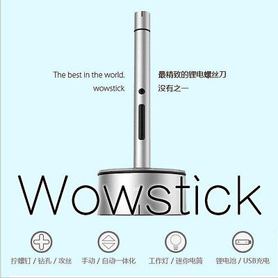 Wowstick A1 1/8 Inch LED Mini Lithium Cordless Electric Power Screwdriver