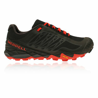Merrell All Out Terra Ice Mens Black Waterproof Trail Running Sports Shoes
