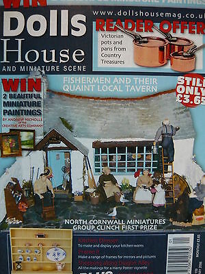 Dolls House And Miniature Scene Magazine Issue 139 - Miniature Projects