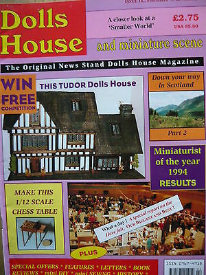 Dolls House And Miniature Scene Magazine Issue 14