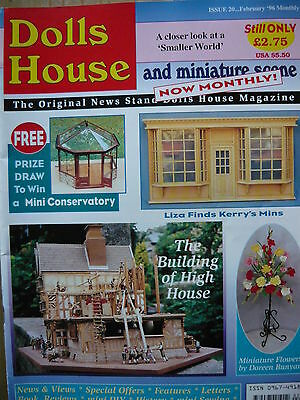 Dolls House And Miniature Scene Magazine Issue 20 - (Miniature Toys)