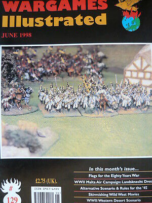 Wargames Illustrated Magazine Issue 129 - Flags For The Eighty Years War