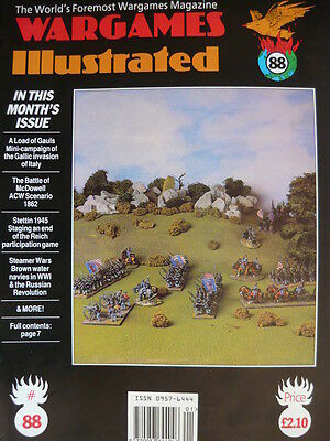 Wargames Illustrated Magazine Issue 88 - The Battle Of Mcdowell