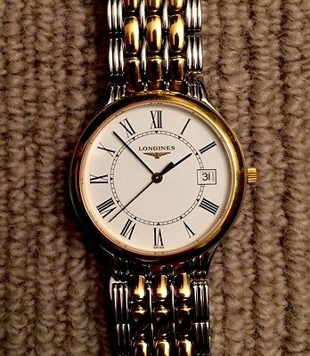 Men's Longines Watch L56493 Gold and Silver
