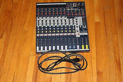 Soundcraft EFX8 Mixer with Power Cord
