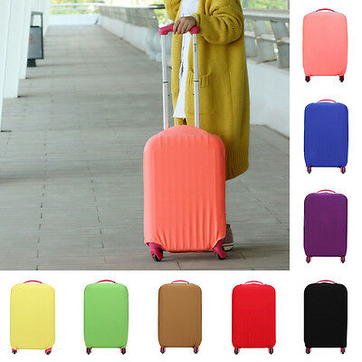 """Protective Bag Dustproof Protector 20""""24""""28"""" Elastic Luggage Suitcase Cover"""