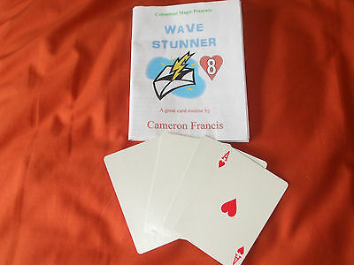 Wave Stunner by Cameron Francis card trick