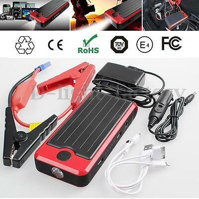 12000mAh Voiture Batterie Secours Urgence LED USB Chargeur Jump Starter Booster