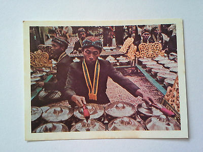 WEET BIX - DISCOVER INDONESIA - GAMELAN ORCHESTRA  Collector Card