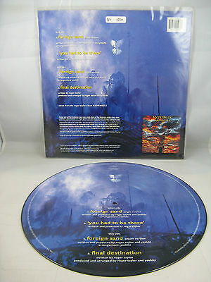 """Roger Taylor & Yoshiki - """"foreign Sand"""" - 1994 Uk Ltd Edition 12 Inch Pic Disc-M"""