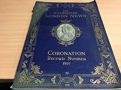 The Illustrated London News Coronation 1937 King George VI Official Book
