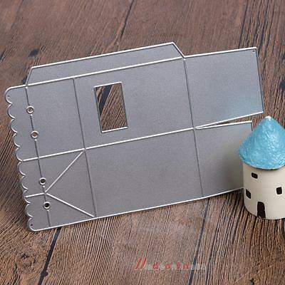 Candy Gift Box Metal Cutting Embossing Stencils Dies for DIY Scrapbooking Album