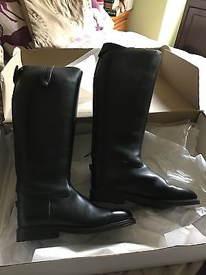 Leather Riding Boots Ladies size 5