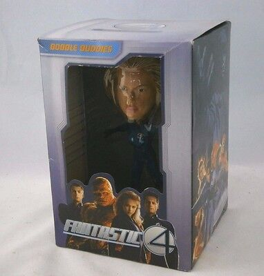 Fantastic 4 Invisible Women Hand Painted Bobble Head Doll Sculptured Art