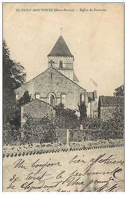 (Ph) New Cpa 79 Chef-Boutonne *** Eglise De Javarsay *** 1915