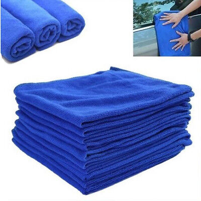 2x Large Microfibre Cleaning Auto Car Detailing Soft Cloths Wash Towel Duster