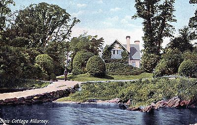 Postcard of Dinis Cottage KILLARNEY and sr cancellation1906