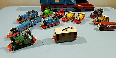 Thomas And Friends Ertl  Carry Case With Trains
