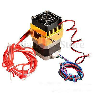 Updated MK8 Extruder 0.4mm Full Metal Nozzle Print Head For Prusa i3 3D Printer