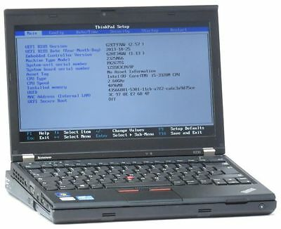 Lenovo ThinkPad X230 Core i5 3320M 2,6GHz 8GB 180GB SSD Webcam (Tastatur defekt)