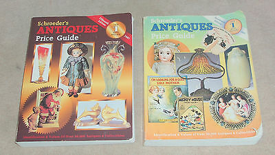 (2) Schroeder's ANTIQUES Price Guide books 1997 & 1999