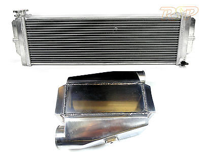 Air Water Intercooler 180° Inlet Chargecooler & Heat Exchange Radiator Pre Order