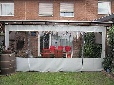 Patio Pvc Wall Curtain With Clear Pvc Window Panel And Door Panel