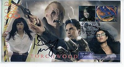 Official Torchwood Steven Scott Cover Everything Changes Signed Eve Myles