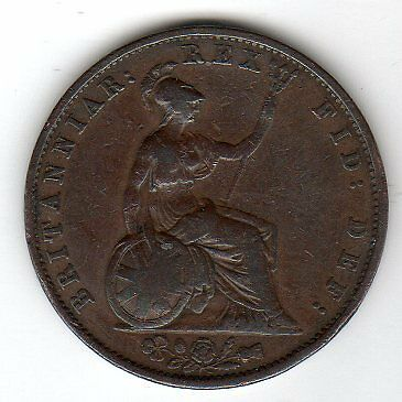1831 Great Britain 1/2 Penny (Gulielmus) 1831