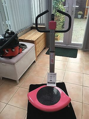 Pink Power fold-able vibration plate power Slimmer NEW IN BOX