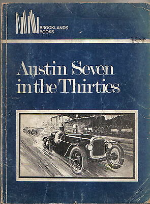Austin Seven in the 30s 7 & Big 7 750 Ulster Sports Swallow Ruby Road Test Book