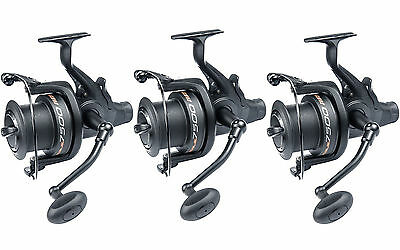 Leeda Rogue 65FS & 75FS Big Pit Freespool Reels - Set of Three Reels!