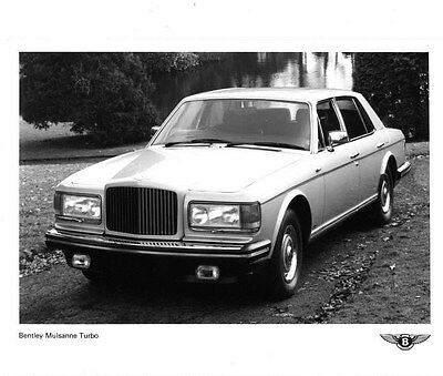 1982 Bentley Mulsanne Turbo ORIGINAL Factory Photo ouc1495-A7TBF7