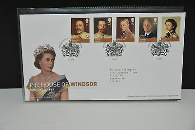 2012 GB First Day Cover The House of Windsor